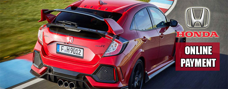 Online Payment Feature for Honda Financial