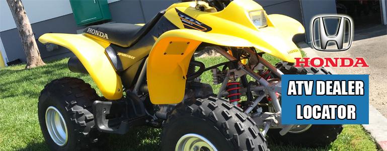 Honda ATV Dealership Locator