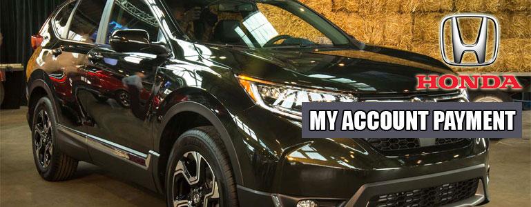 My Account Payment - Honda Financial