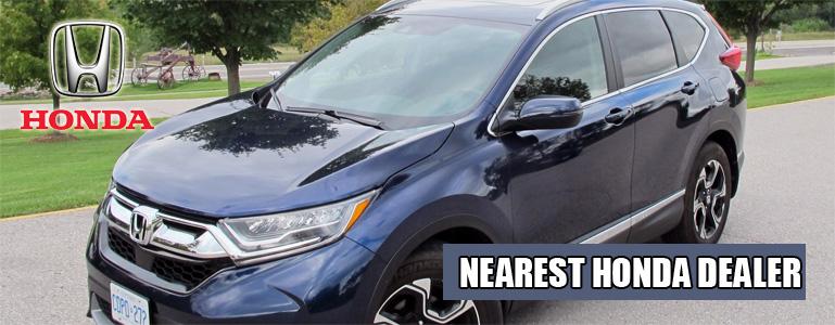 Find the nearest Honda dealer