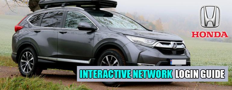 Honda Interactive Network Login